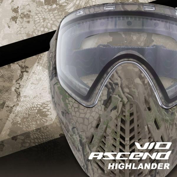 Paintball Maske Virtue VIO Ascend Thermal Highlander
