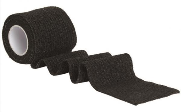 Tarnband selbsthaftend Schwarz 5 cm x 4,5 m