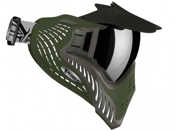 VForce Profiler Paintball Maske SF Cobra Grau / Oliv