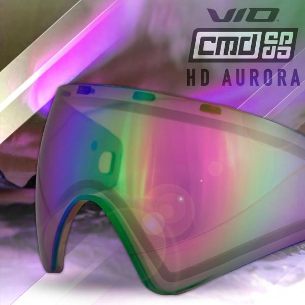 Paintball Mask Glass Virtue VIO / Bunker Kings CMD Thermal Chromatic Fire