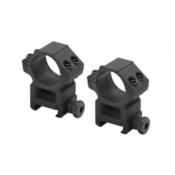 Montage Ringe D=25,4mm H=42mm für 20-22mm Schienen