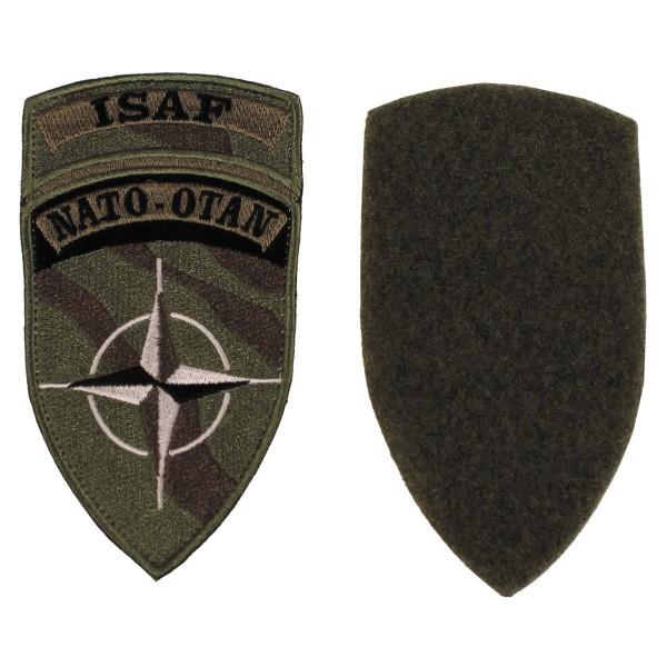 """Klettabzeichen, """"ISAF"""", NATO-OTAN Patch"""