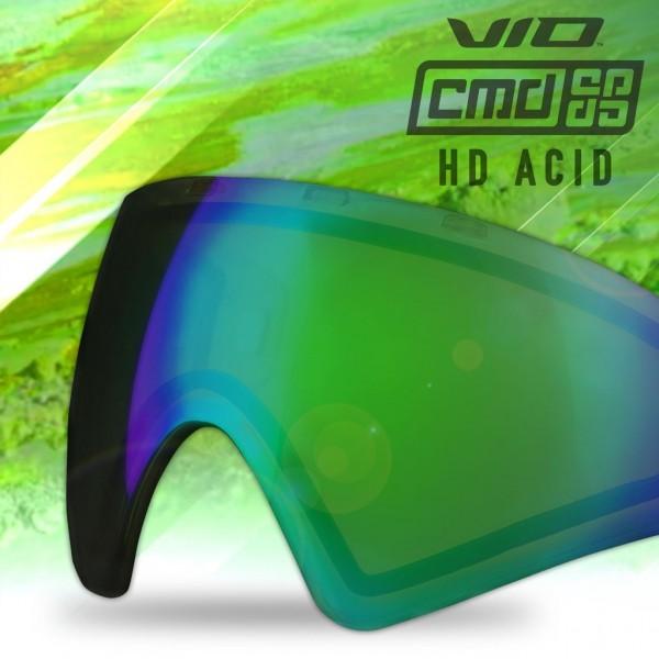 Paintball Maskenglas Virtue VIO / Bunker Kings CMD Thermal HD Acid