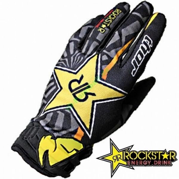 Rockstar Thor Paintball Handschuhe (schwarz/gelb)