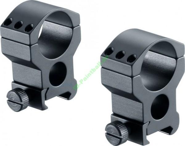22 mm Walther Montage Ringe High Für Zielfernrohre 25,3mm