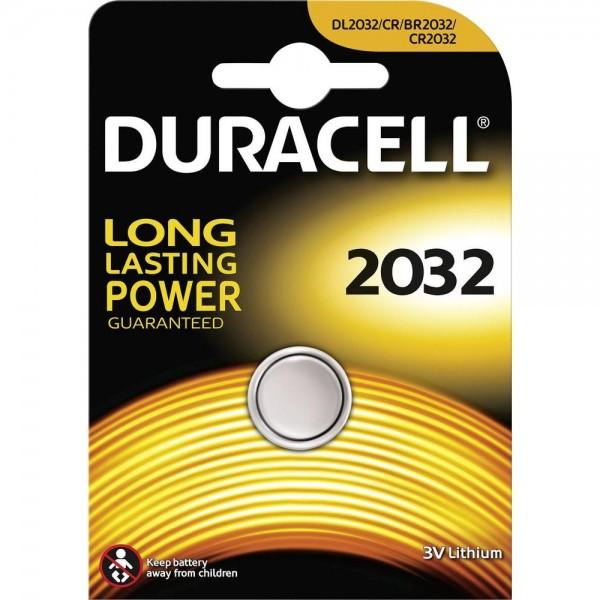 Duracell CR 2032 zB. für Red Dot Visiere