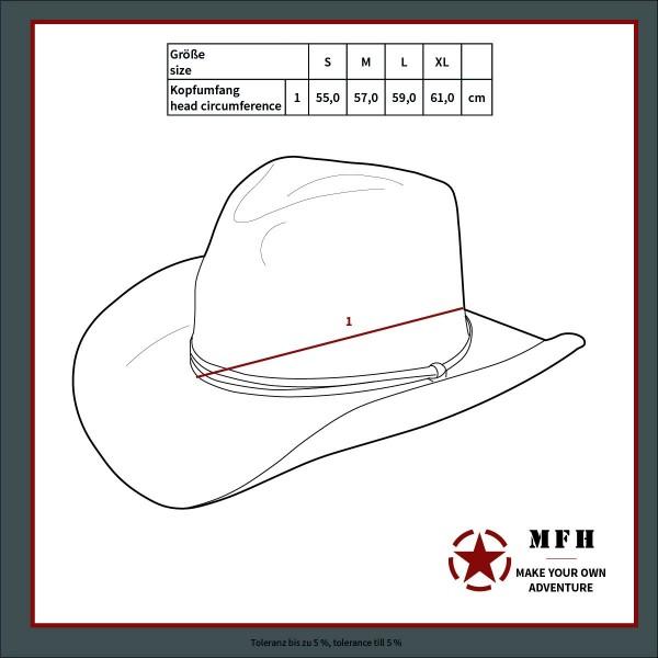 US GI bush hat with chin strap
