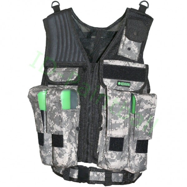 Tactical Paintball Weste ACU Digitalcamo