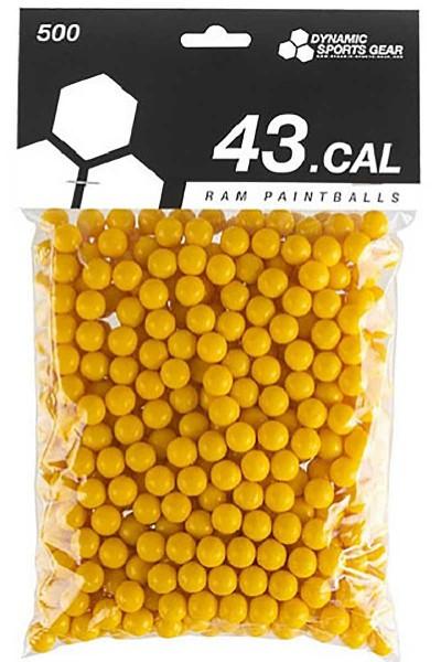 DSG RAM Paintballs cal.43 100 Stück Gelb