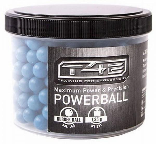 T4E 430 Powerballs Cal43 Rubber Blau