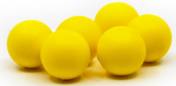 Valken Gotcha foam balls cal. 50 - 100 pieces - neon yellow
