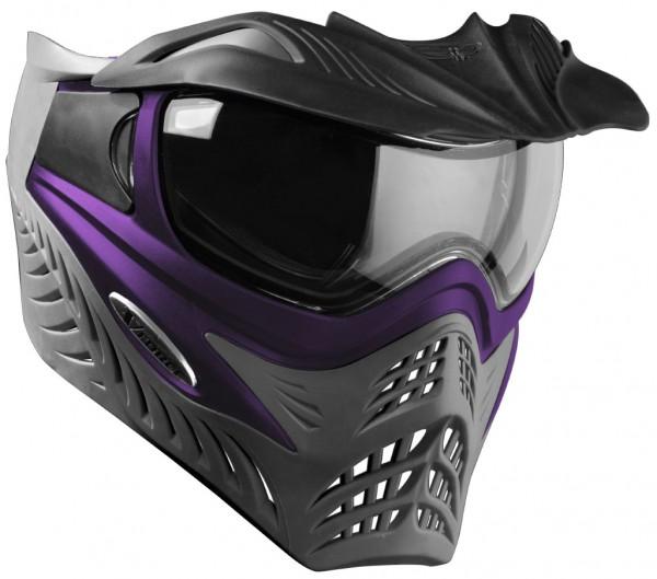 "VForce Grill Paintballmaske ""Gambit"" Purple on Grey"