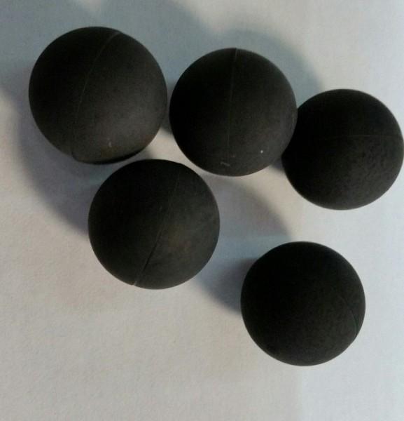 100 Hartgummi Rubberballs Paintballs Reballs Cal 68