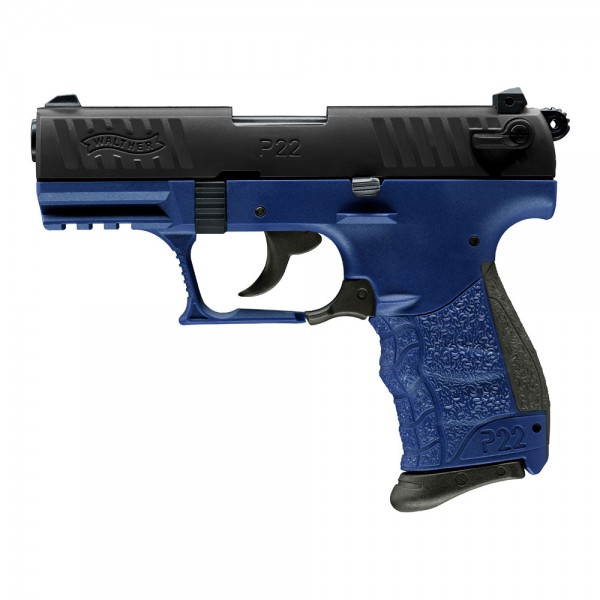 Walther P22Q 9 mm P.A.K. - Blue Star