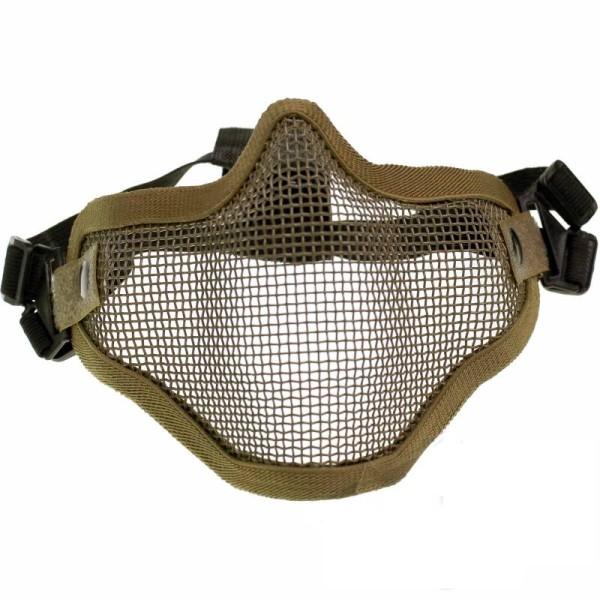 Gittermaske für Airsoft Tan