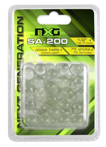 NXG Glaskugeln SA-200 75 Stück 12,7mm