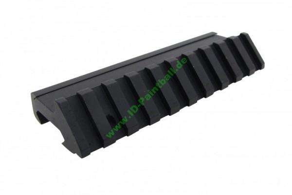20mm Zusatz Picatinny Rail mit 45 Grad Winkel schwarz für ETHA EMC Kit