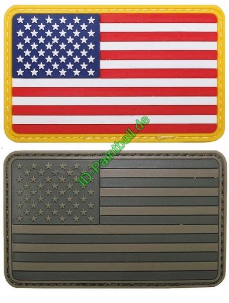 Klettabzeichen, USA, 3D Patch