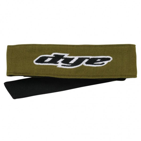 Dye Paintball Head Tie oliv Headband