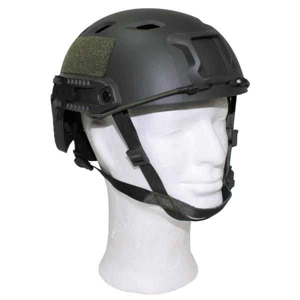 US helmet, FAST paratroopers