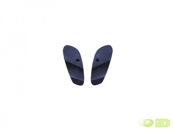 PMR Alloy Eye Plates schwarz Kunststoff