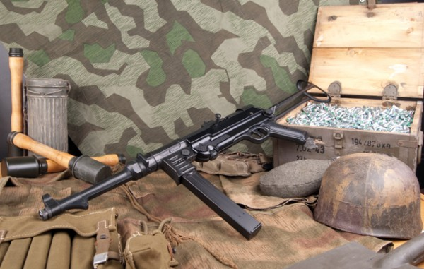 GSG MP40 9mm P.A.K Schreckschuss Maschiengewehr