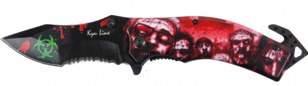 Einhandmesser - Zombie