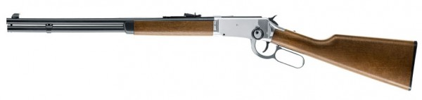 Legends Cowboy Rifle Chrome finish Winchester Repeater .177 BB Co2