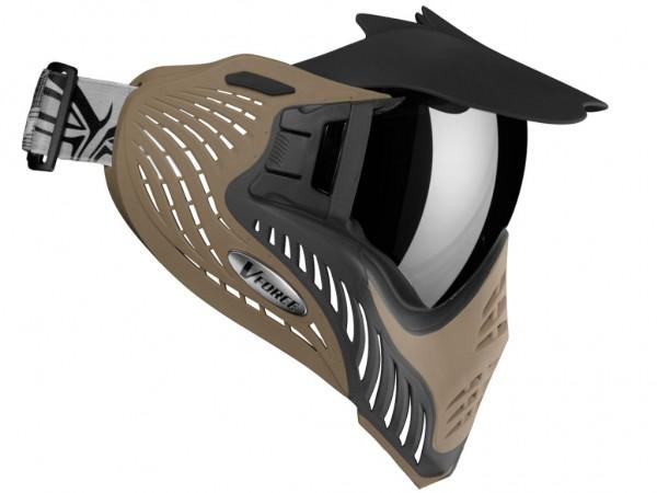VForce Profiler Paintball Maske SF Coyote Grau / Tan