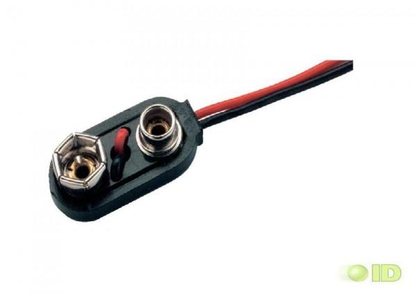 Batterieanschlusskabel für 9 Volt Block
