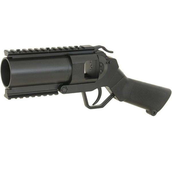 40mm Granatpistole für Paintball / Airsoft Flacher Griff