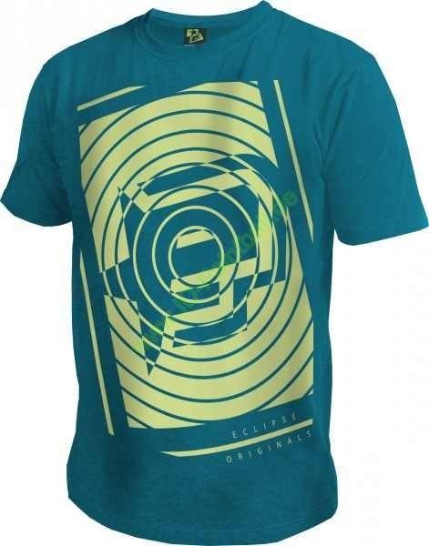 T-Shirt Planet Mens Spiro türkis