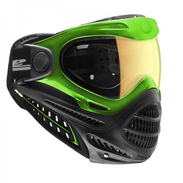 Paintball Maske DYE Axis Pro lime - Northern Lights