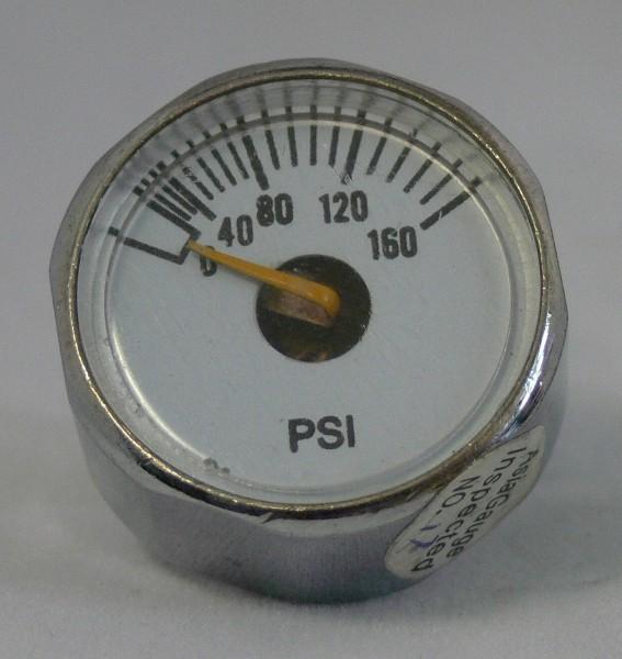 Manometer 0-160 Psi z.B für Pressuretester