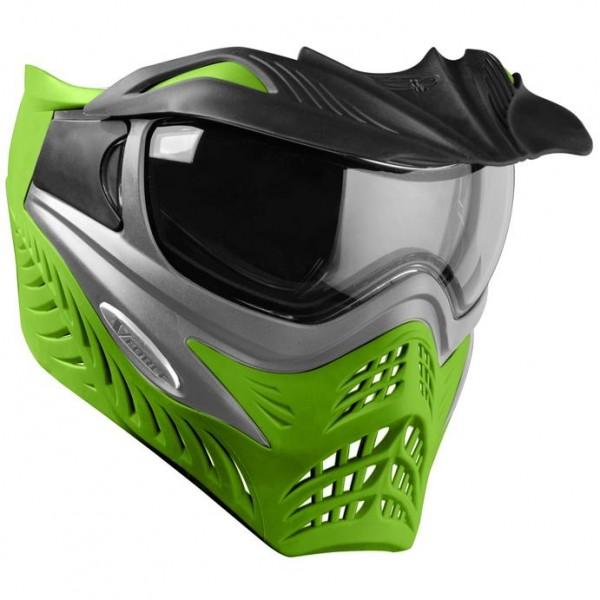 VForce Grill Paintballmaske SC Grey on Lime