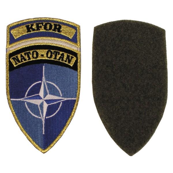 """Klettabzeichen, """"KFOR"""", NATO-OTAN Patch"""