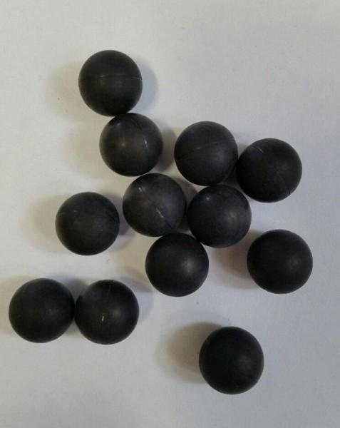 Rubberballs, hard rubber balls Reballs 100 pieces Cal.43