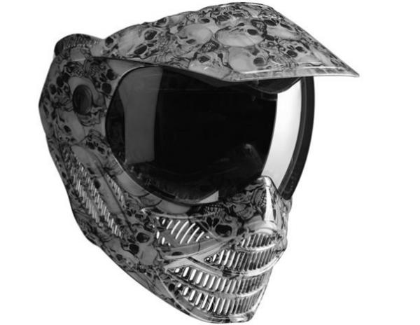 Paintball Maske Tippmann Valor FX - Skull Totenkopf