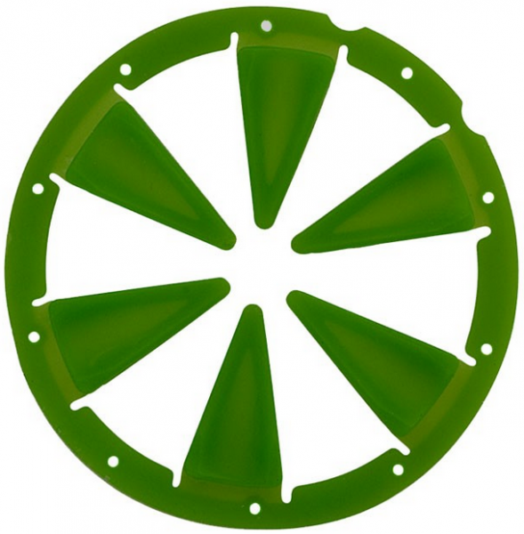 Dye Rotor R1 Speedfeed Lime Grün