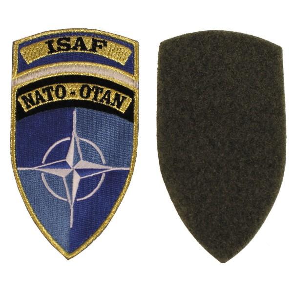 """Klettabzeichen """"ISAF"""", NATO-OTAN Patch"""