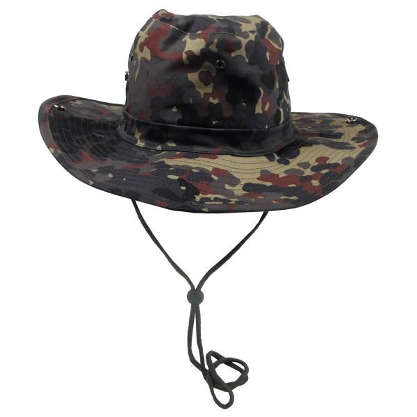 Bush hat (floppy hat) with chin strap