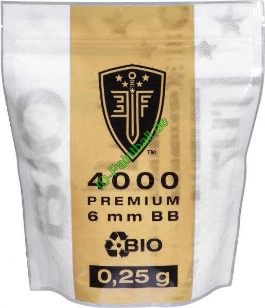 Elite Force Bio BBs 0,25g 4000Stück Weiss