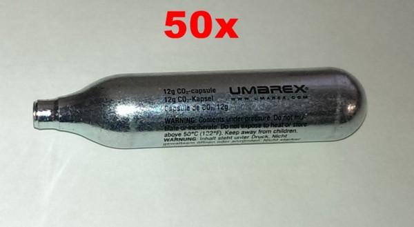 50 x CO2 Kapsel 12g Umarex