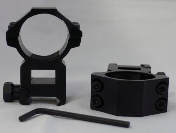 Montage Ringe D=30mm H=52mm für 20-22mm Schienen