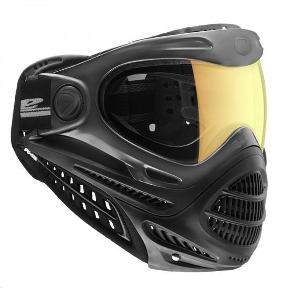 Paintball Maske DYE Axis Pro black - Fade Bronze Sunrise