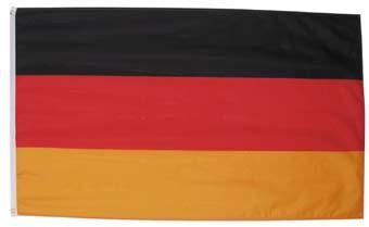 Fahne, Deutschland, Polyester, Gr. 90 x 150 cm