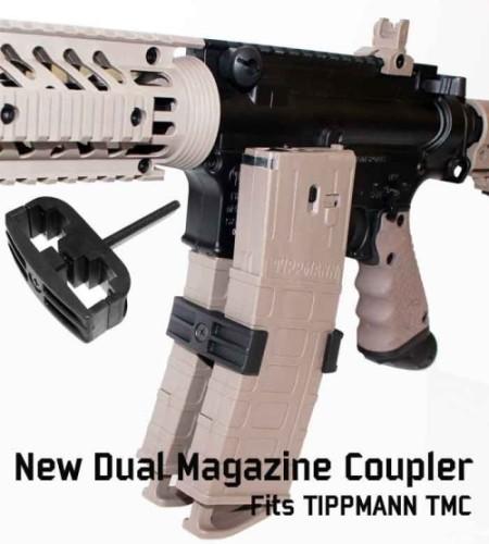 Dual Magazin Koppler für Tippmann TMC Magazine