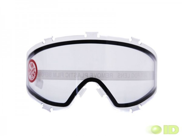 JT Spectra Thermal Maskenglas Clear