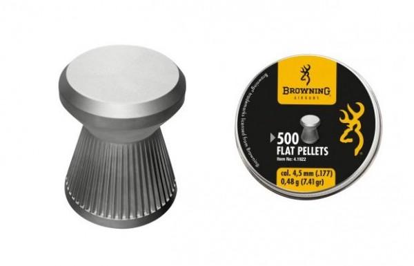 Diabolo Browning Flachkopf 500 Stück 4,5mm