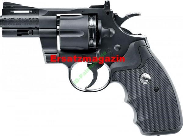 Ersatzmagazin für 4,5 mm Diabolo Colt Python 3er Set Metall